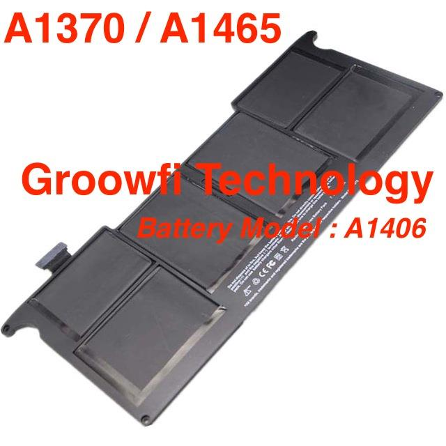 New Original Apple MacBook Air 11'inch A1370 A1465 Battery Model A1406