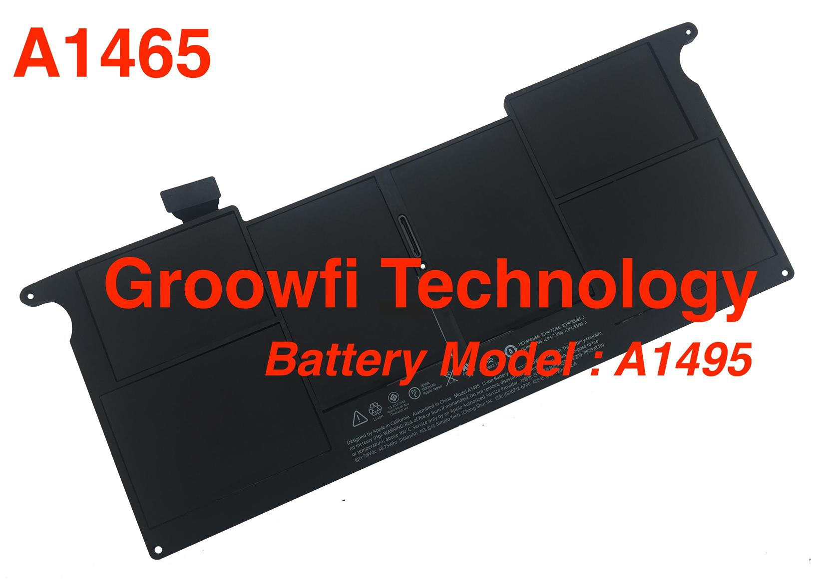 New Original Apple MacBook Air 11'inch A1465 Battery Model A1495