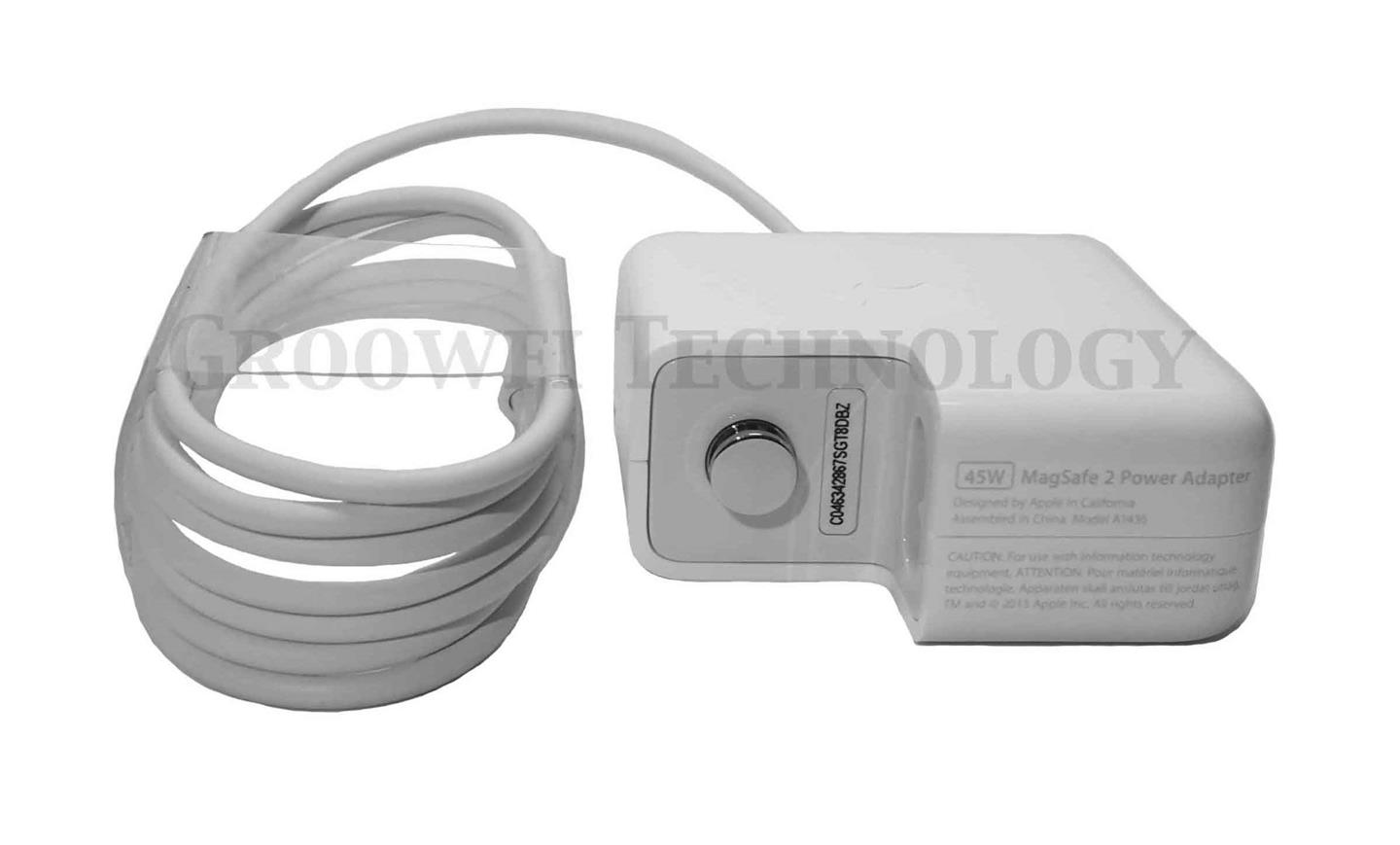 Original Apple MacBook Air 45W MagSafe 2 Power Adapter Charger