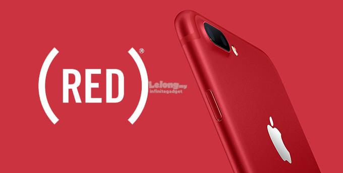 (ORIGINAL) APPLE WARRANTY Apple iPhone 7+ Plus 256GB RED
