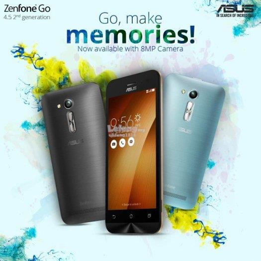 (ORIGINAL) ASUS WARRANTY Asus Zenfone GO 4.5 Plus (2GB RAM)