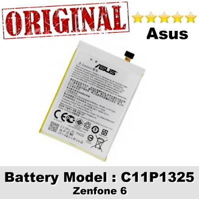 Original Asus Zenfone 6 Battery Model C11P1325 Battery 1 Year Warranty
