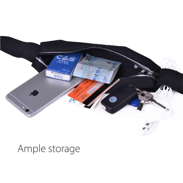 ORIGINAL AVANTREE AM006P Running Sport Waist Belt iPhone 8 7 6S 6 Plus