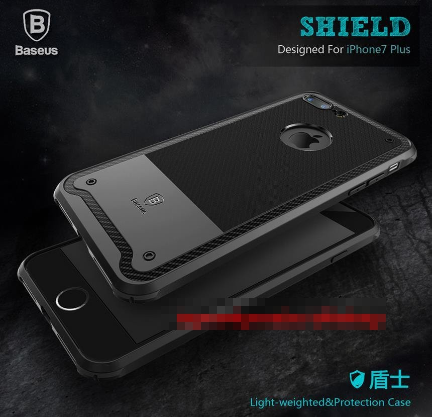 Original Baseus Apple iPhone 7 / Plus Shield Armor Case Cover Casing