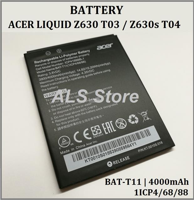 High Quality 4000mah Bat-t11 Battery For Acer Liquid T03 T04 Z630 Z630s Cellphone Cellphones & Telecommunications Mobile Phone Batteries