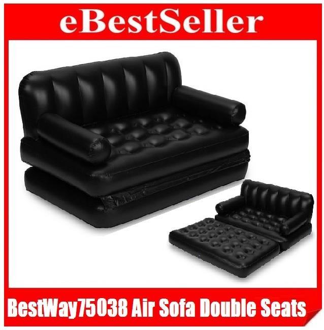 Original Bestway 5 In1 Inflatable Air Sofa Queen Double Bed Mattress