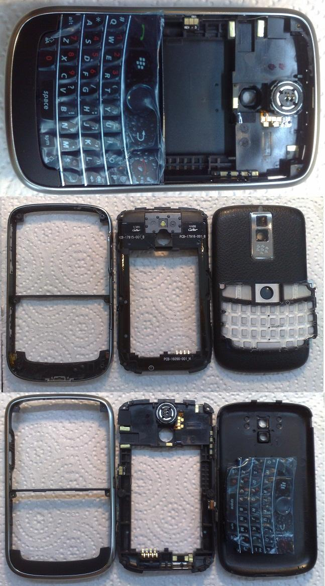 <B>~ ORIGINAL BLACKBERRY BOLD 9000 COMPLETE HOUSING @ FASTECH ~</B>