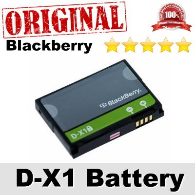 Original Blackberry D-X1 DX1 Storm 9530 Thunder Verizon Battery 1Y WTY
