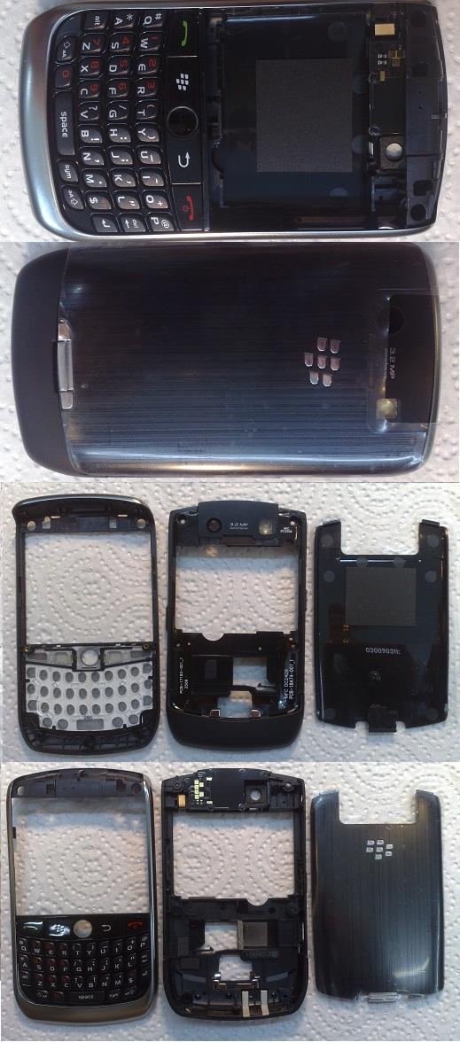 <B>~ ORIGINAL BLACKBERRY JEVELIN 8900 COMPLETE HOUSING @ FASTECH ~</B>
