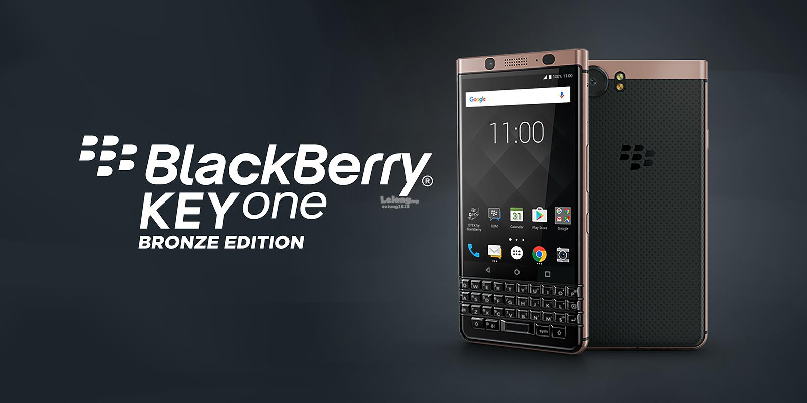 (ORIGINAL) BLACKBERRY MALAYSIA BlackBerry KEYONE (BRONZE EDITION)
