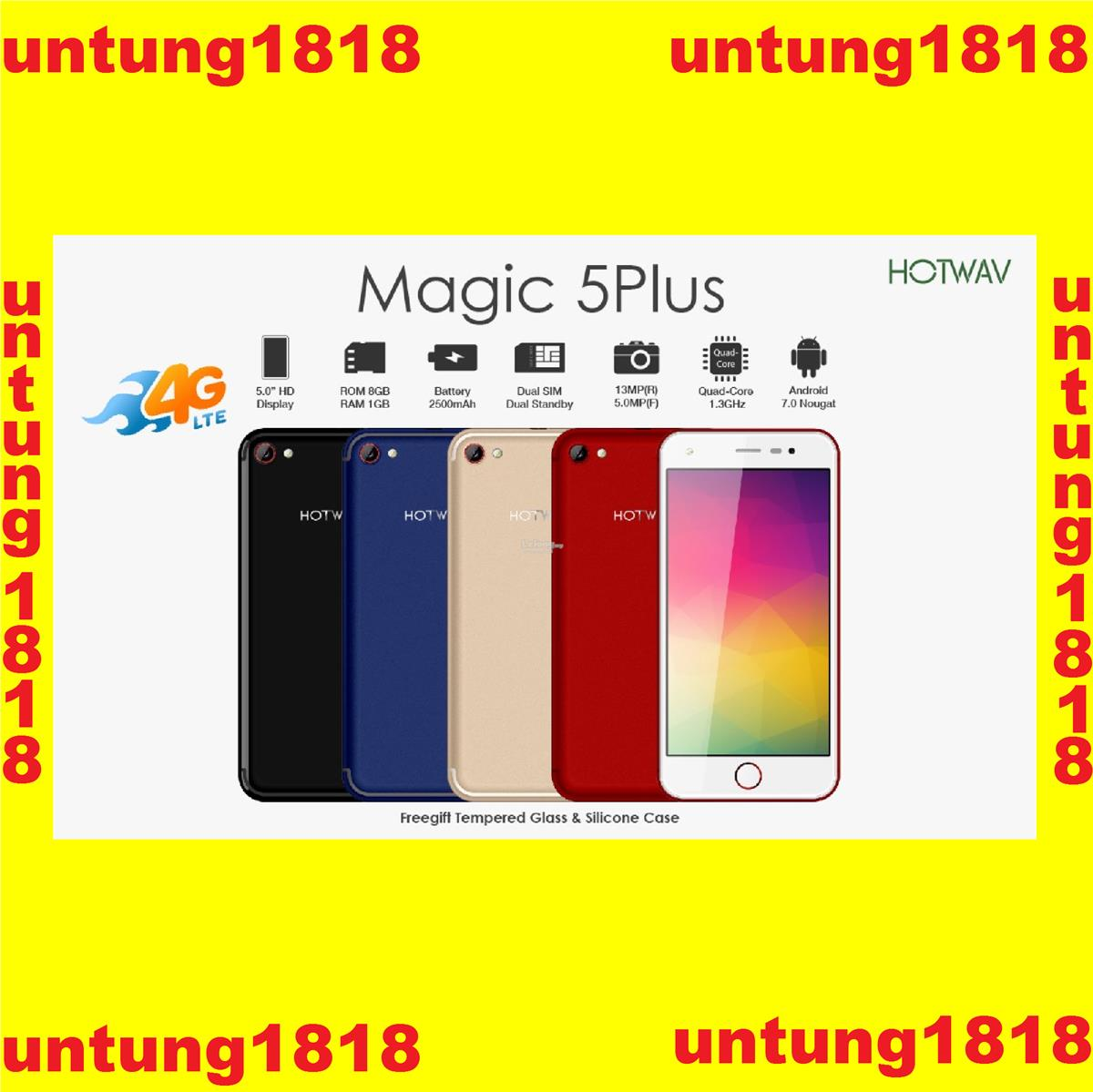 ORIGINAL A Brand By Malaysia Magic 5 Plus 5.0inch Android Smartphone