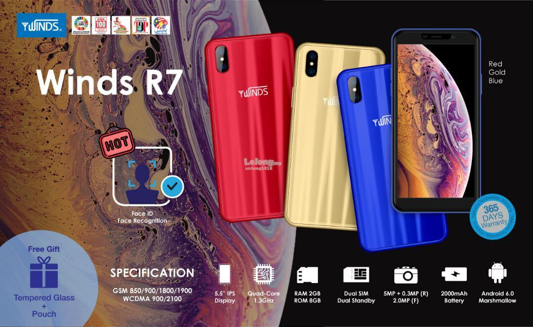 ORIGINAL A Brand By Malaysia_R7 5.5 inch Android Smartphone