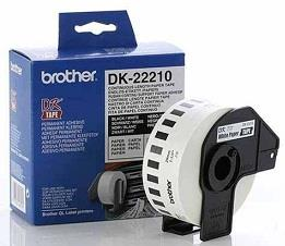 [ORIGINAL]Brother DK22210 Continuous Length Paper Tape