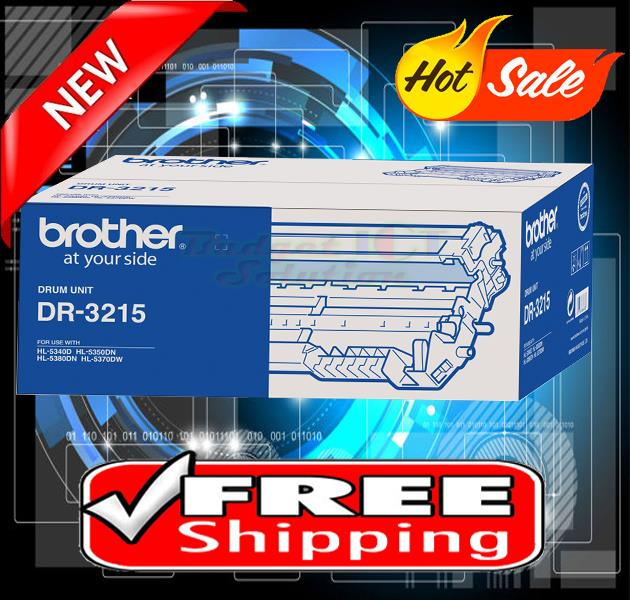 ORIGINAL BROTHER DR-3215 Drum 5340 5350 5370 5380 8370 8880 8890 3215