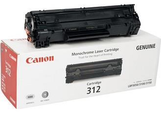[ORIGINAL]CANON 312 BLACK TONER INK CARTRIDGE