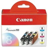 [ORIGINAL]CANON CLI-8(CMY) COLOR VALUE INK CARTRIDGE