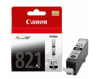 Original Canon CLI-821BK Black Ink Cartridge ( CLI821BK CLI 821 BK )