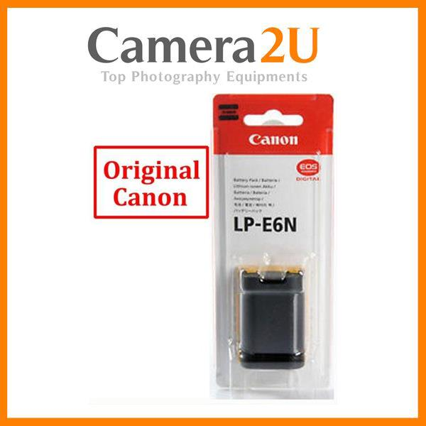 Original Canon LP-E6N LPE6N Battery for Canon EOS