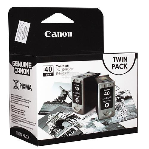 [ORIGINAL]CANON PG-40 BLACK TWIN PACK INK CARTRIDGE