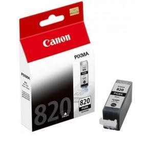 Original Canon PGI-820BK Black Ink Cartridge ( PGI820BK PGI 820 BK )