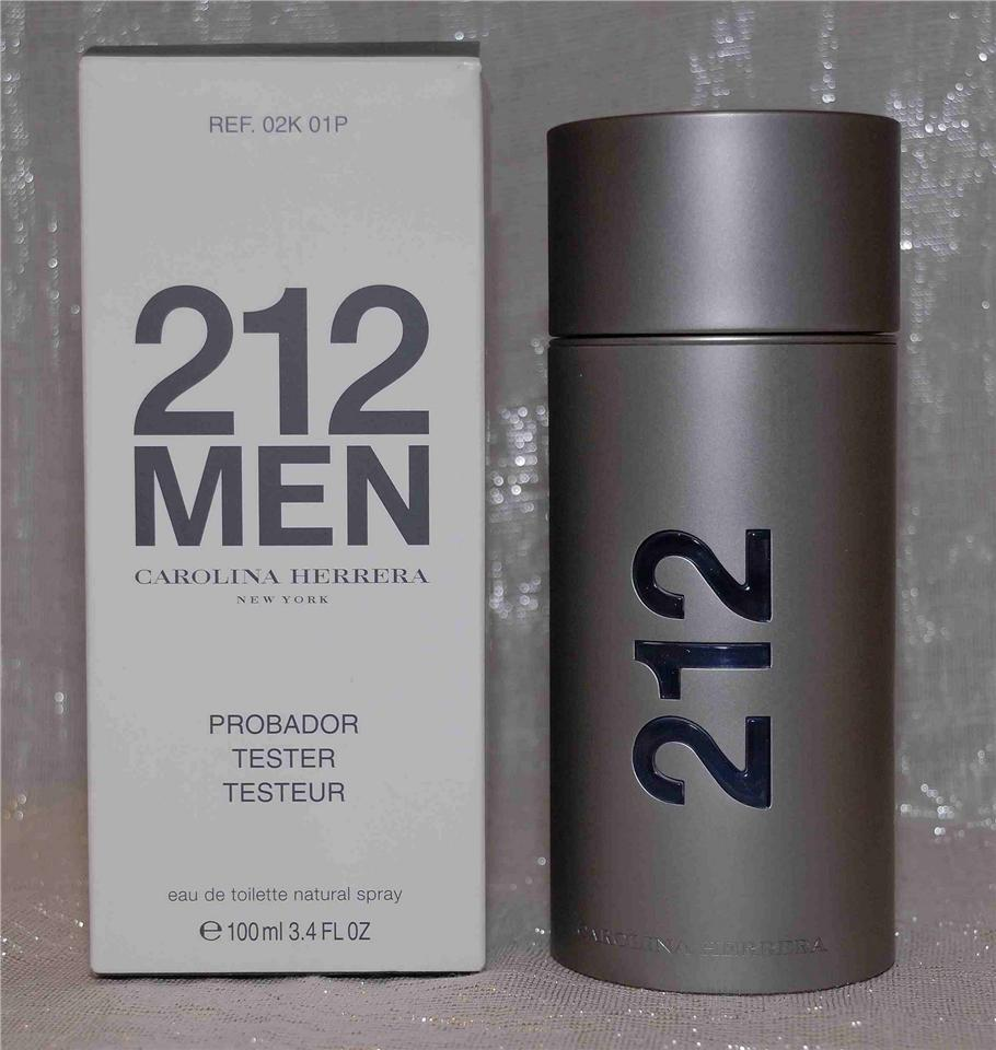 c3b4b67641 ORIGINAL Carolina Herrera 212 Men EDT 100ML Tester Perfume. ‹ ›