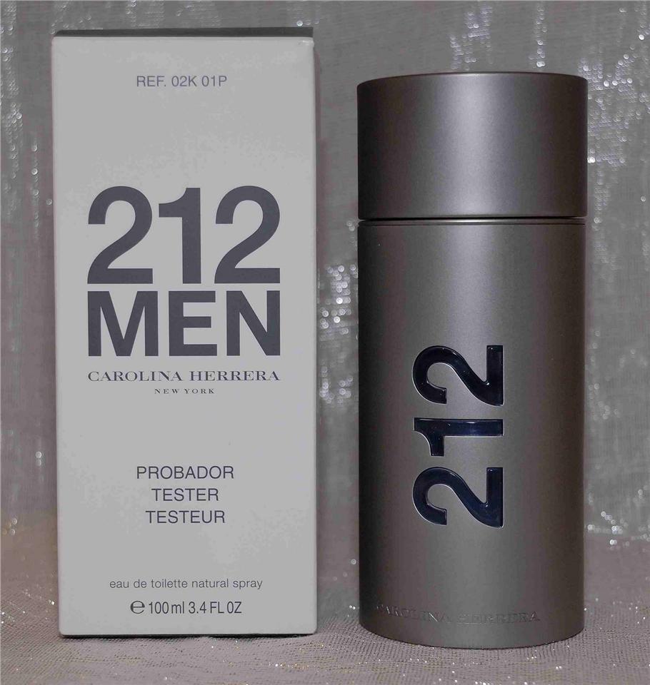 402067b44 ORIGINAL Carolina Herrera 212 Men EDT 100ML Tester Perfume. ‹ ›