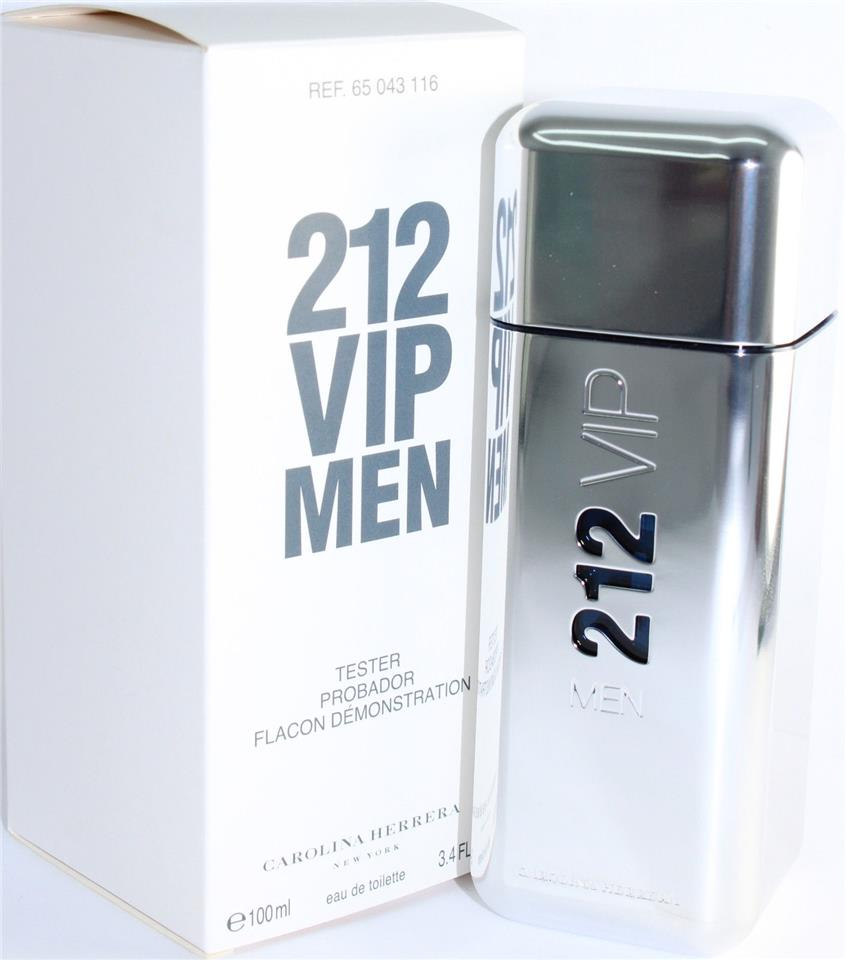 49670003e4 ORIGINAL Carolina Herrera 212 VIP EDT 100ML Tester Perfume. ‹ ›