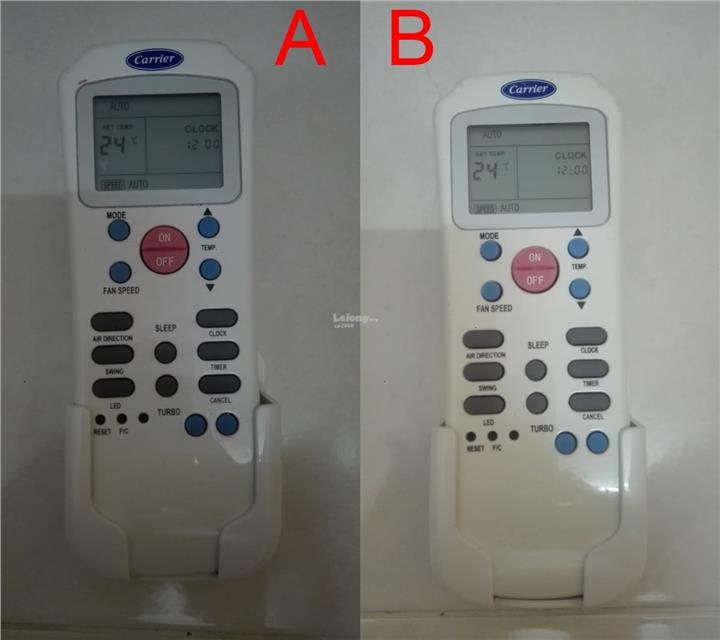 Original Carrier Air-con AC Remote Control