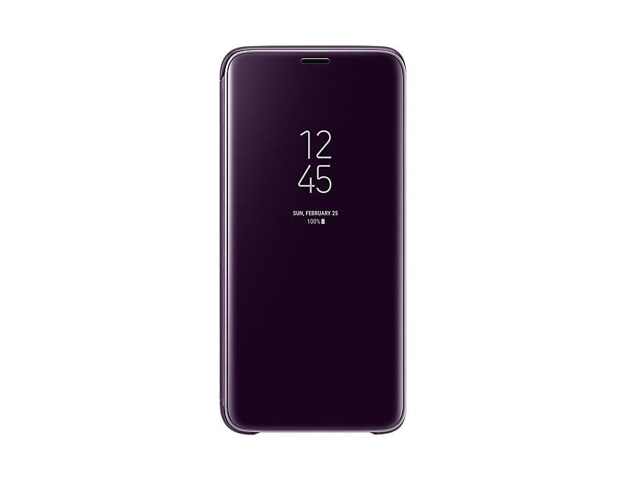 ORIGINAL Clear View Standing Cover Case Samsung Galaxy S9 & S9+ Plus