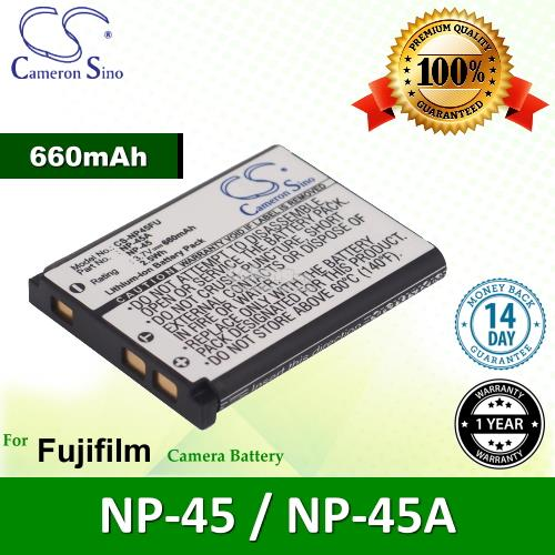 Original CS NP45FU Fujifilm NP-45 / NP-45A Camera Battery