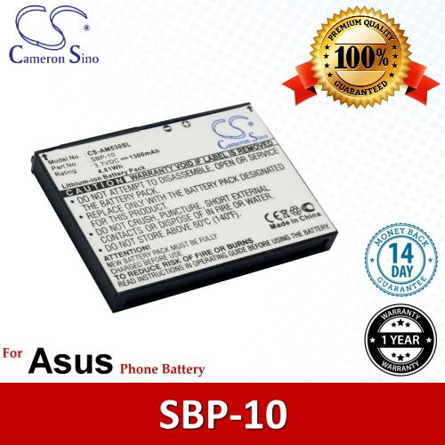 Original CS Phone Battery AM530SL Asus M536 P560 Battery Model SBP-10