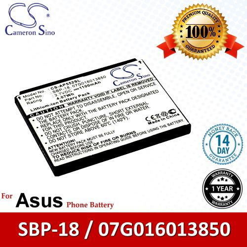 Original CS Phone Battery AP552SL SBP-18 07G016013850 Asus P552v P552w