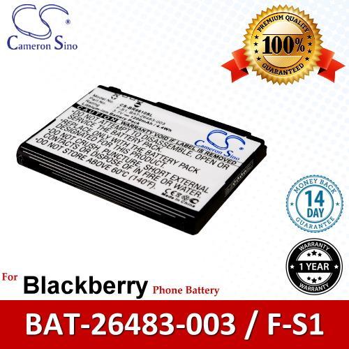 Original CS Phone Battery BR9810SL Blackberry BAT-26483-003 F-S1 FS1
