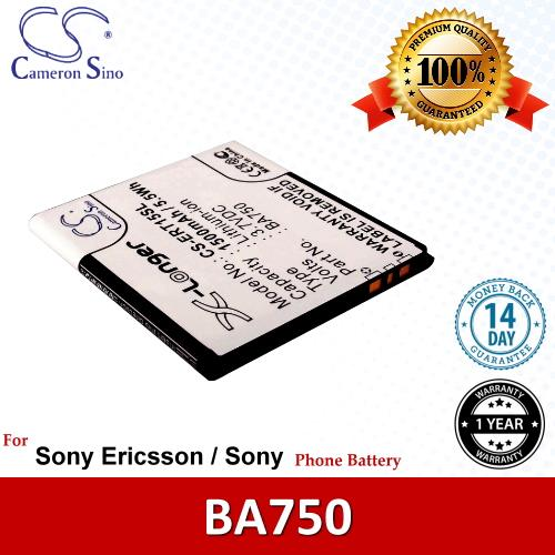 Original CS Phone Battery ERT15SL Sony Ericsson Xperia Acro SO-02C