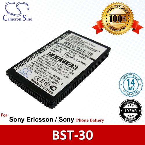 Original CS Phone Battery ERT230SL Sony Ericsson F500 Z200 F500i J200c