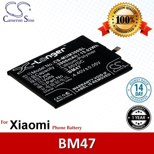Original CS Phone Battery MUM300SL Xiaomi Redmi 3 Redmi 3 5.0 Inch