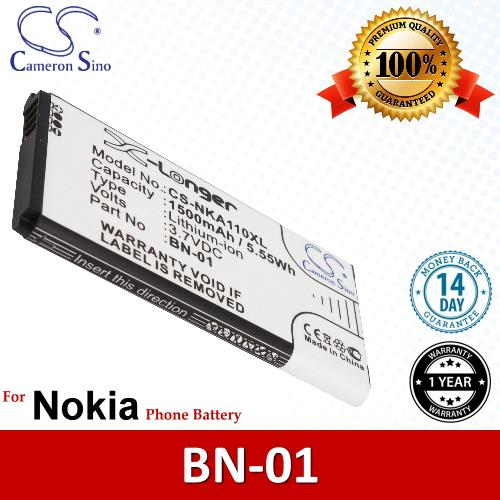 Original CS Phone Battery NKA110XL Nokia X Plus Dual Sim RM-1053 X+. ‹ ›