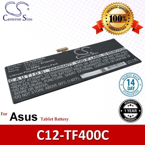 Original CS Tablet Battery Model AUM400SL Asus C12-TF400C Battery