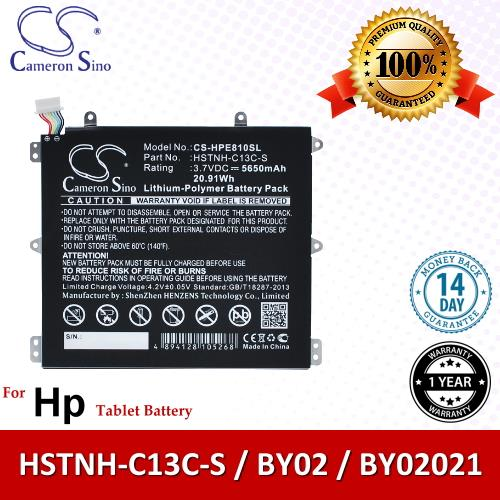 Original CS Tablet Battery Model HPE810SL HP BY02 / HSTNH-C13C-S