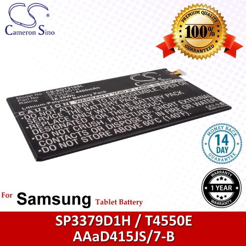 Original CS Tablet Battery Model SGT310SL Samsung SP3379D1H Battery