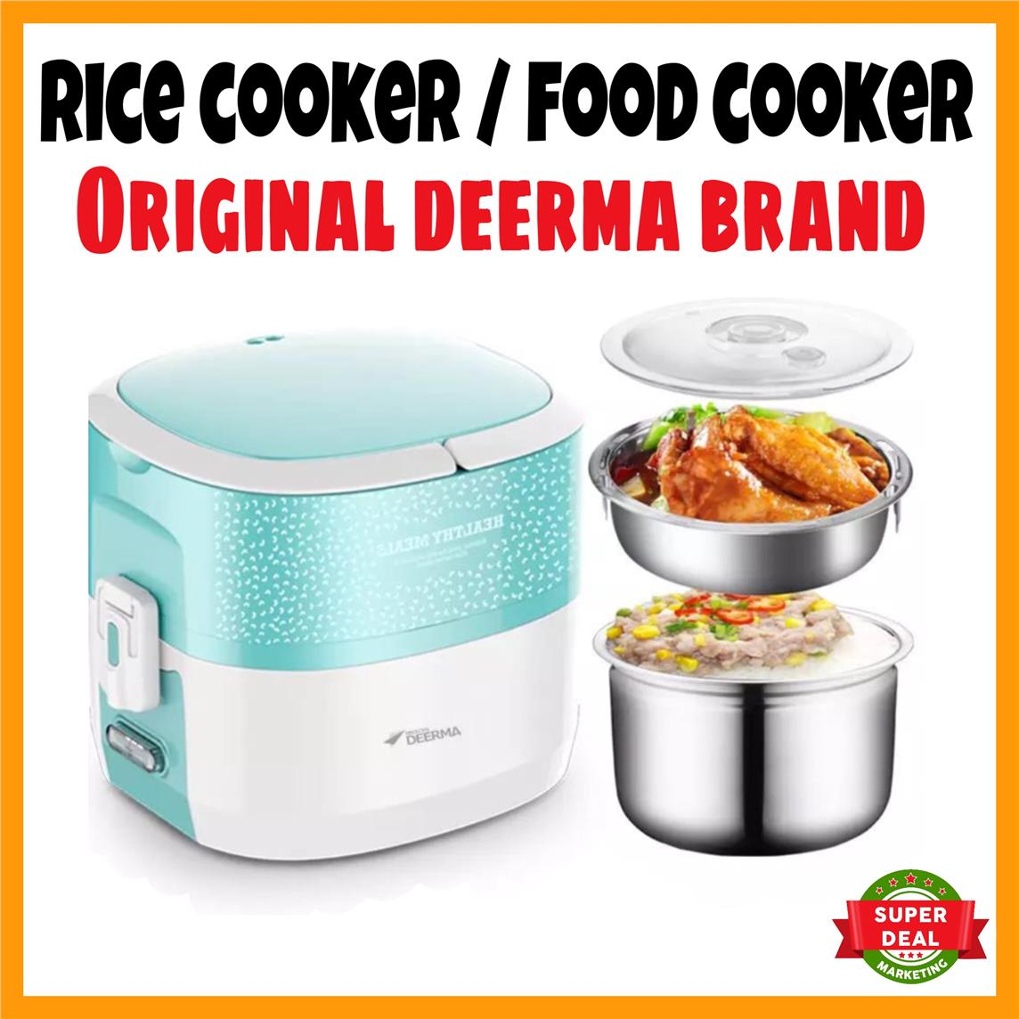 ORIGINAL Deerma Rice Cooker 1.2L Fo (end 9/21/2019 12:15 AM)