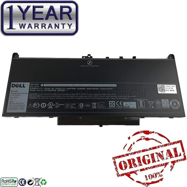 Original Dell Latitude 14 E7270 14 E7470 E7270 E7470 Laptop Battery