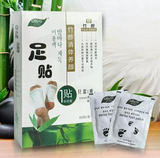 ORIGINAL DETOX FOOT PATCH 10pcs unboxing