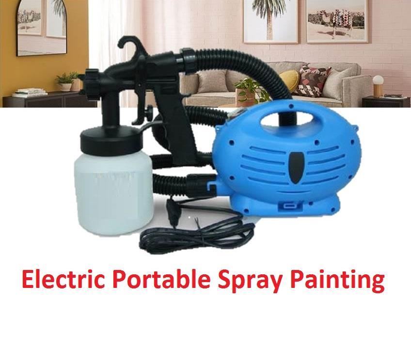 Original Diy Paint Zoom Electric 3 Way Spray Gun System Paint Sprayer