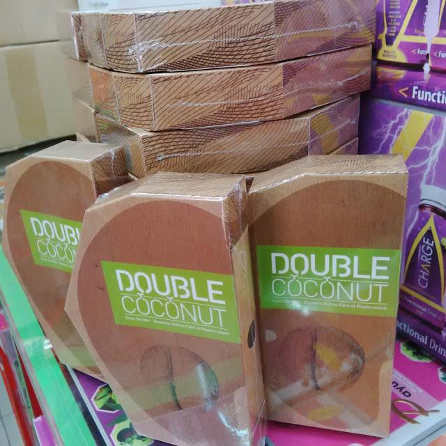 Original Double Coconut - Pastikan ada  Hologram