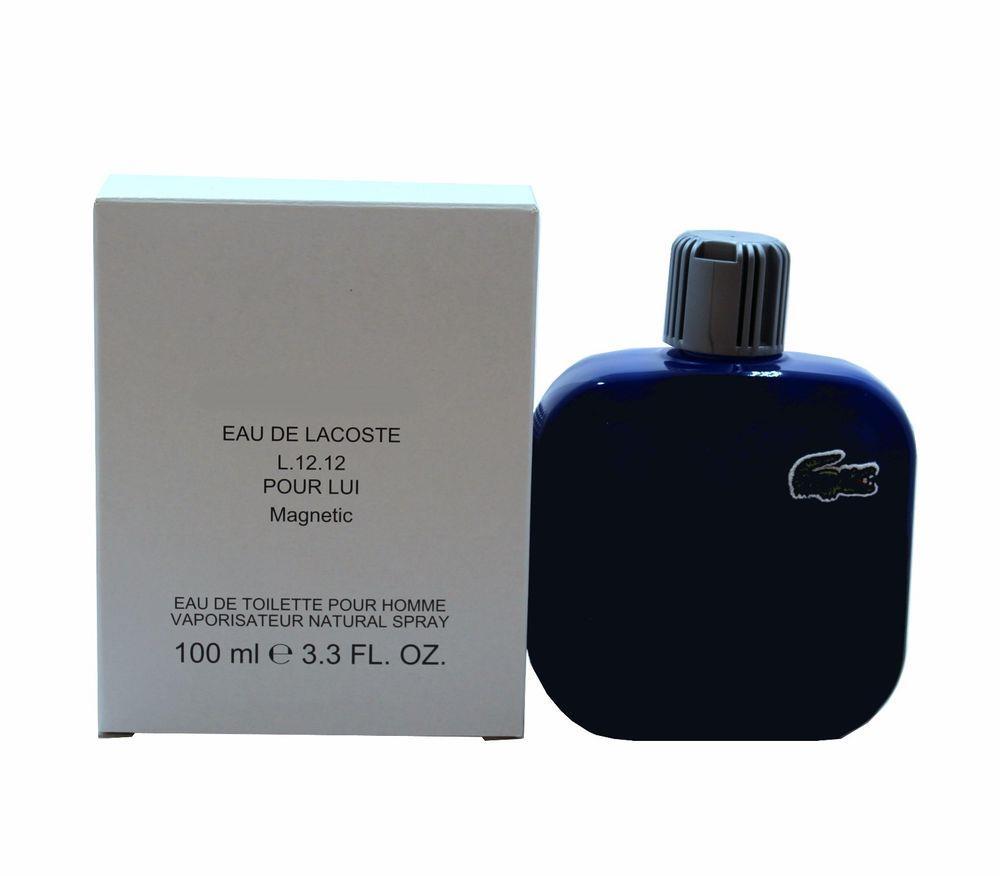 d5ffea6880fee ORIGINAL Eau De Lacoste L.12.12 Magnetic 100ml EDT Tester Perfume. ‹ ›