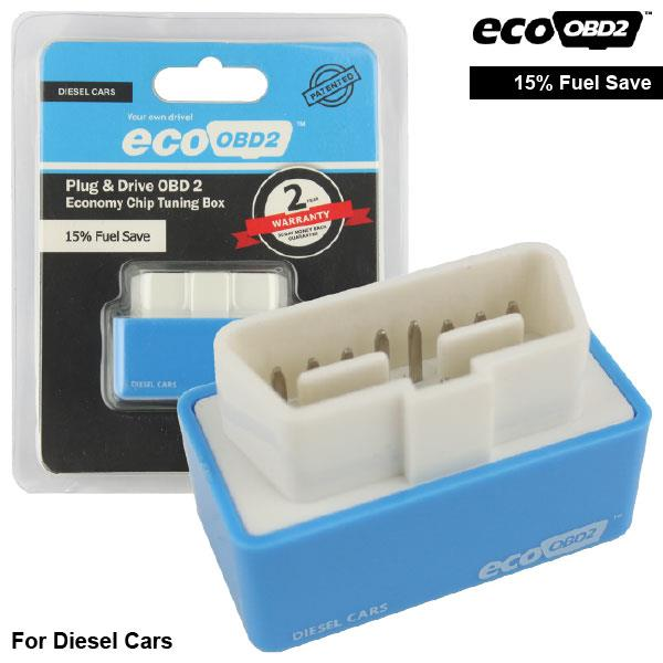 ORIGINAL ECOOBD2 Chip Tuning Box Increase Fuel Saving (Diesel)