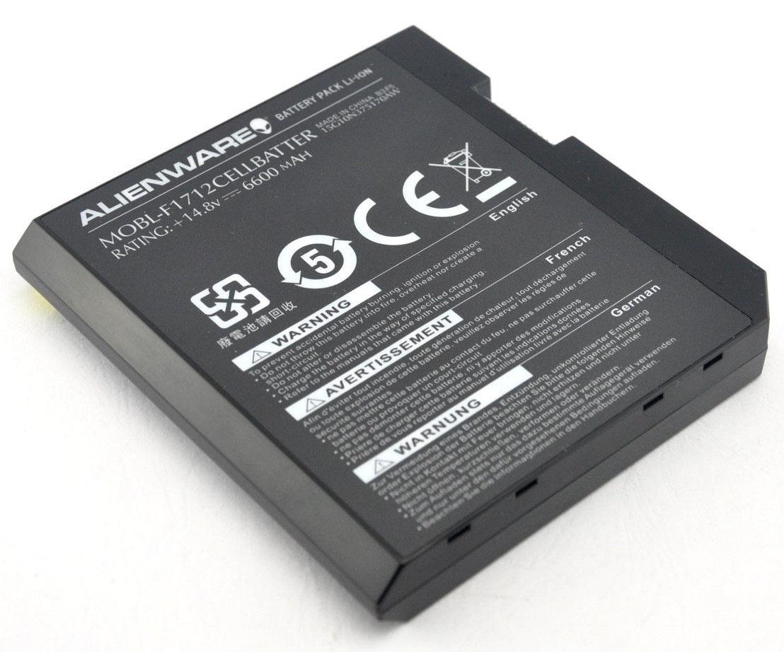 Original F1712 Dell Alienware Area-51 M17x R1 F17 Battery