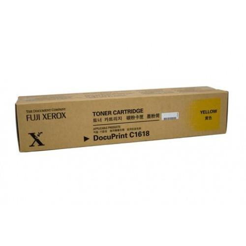 Original Fuji Xerox C1618 YELLOW TONER CT200229 6K (CT200229)