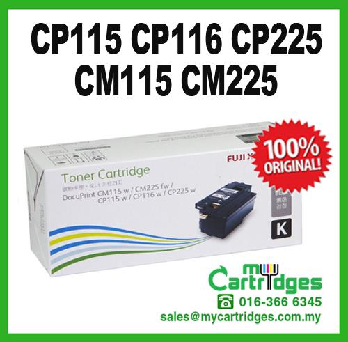 Original Fuji Xerox CP115 CP116 CP225 CM115 CM225 Black Toner CT202264